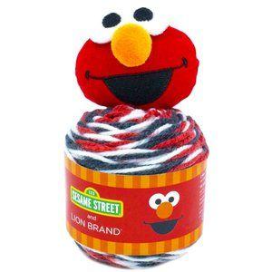 Lion Brand Sesame Street One Hat Wonder Yarn-Elmo